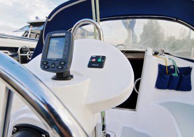 Tes 32 czarter jachtów na Zalewie Solińskim